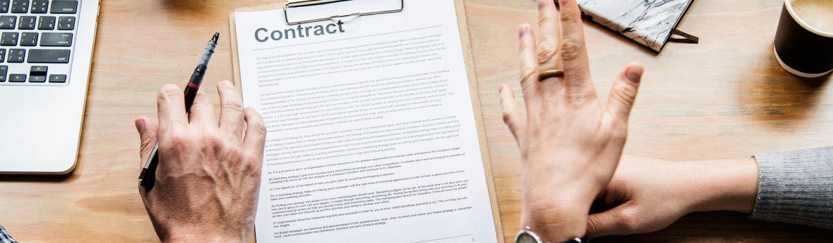 La legalidad de algunas cláusulas en los contratos de alquiler